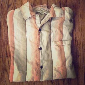 Authentic Tommy Bahama 100% silk shirt - men's